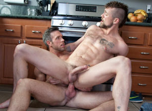 gay muscle porn clip: Rideshare - Alex Mecum & Jay Austin, on hotmusclefucker.com