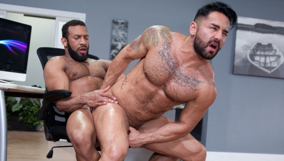 69492 03 01 - Bruno Bernal moans loudly as Jay Landford's huge dick stretches his butt hole to the max