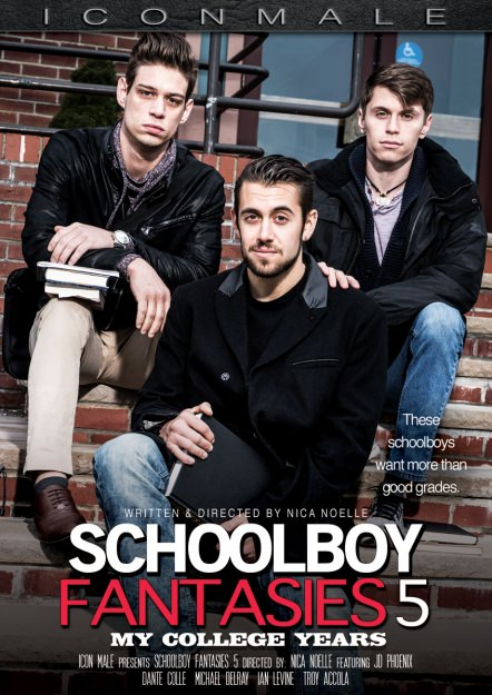 Schoolboy Fantasies 5 - My College Years Dvd Cover