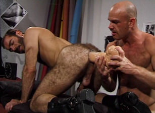 Ass on the Line, Scene #01 : Lance Gear, Mark Evrett