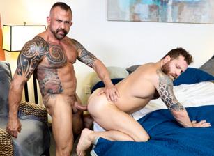 gay muscle porn clip: Reliable Fuck - Jon Galt & Riley Mitchel, on hotmusclefucker.com