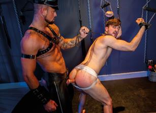 gay muscle porn clip: Master Plan - Mason Lear & Michael Roman, on hotmusclefucker.com