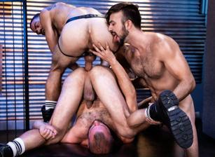 gay muscle porn clip: Manscent - Donnie Argento & Mason Lear & Ricky Larkin, on hotmusclefucker.com