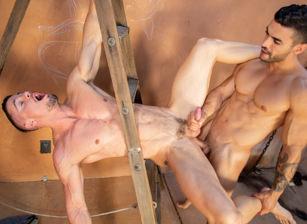 gay muscle porn clip: Bareback Ranch - Arad Winwin & Skyy Knox, on hotmusclefucker.com