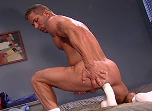 gay muscle porn clip: Backroom Exclusives 1 - C.J. Knight, on hotmusclefucker.com