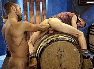 gay muscle porn clip: Wrist Wranglers - David Novak & Kyler Rogue, on hotmusclefucker.com