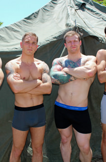 Active Duty Update - Mike Johnson, Mike O'Brian, Blake Effortly & Leeroy Jones Picture