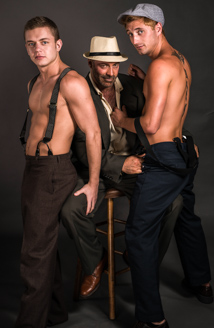 Brad Kalvo, Ian Levine & JD Phoenix Picture