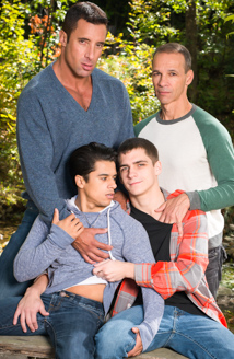Armond Rizzo, Nick Capra, Kory Houston & Rodney Steele Picture
