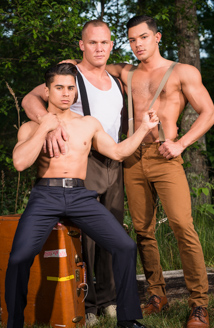 Armond Rizzo, Austin Andrews & Ethan Slade Picture